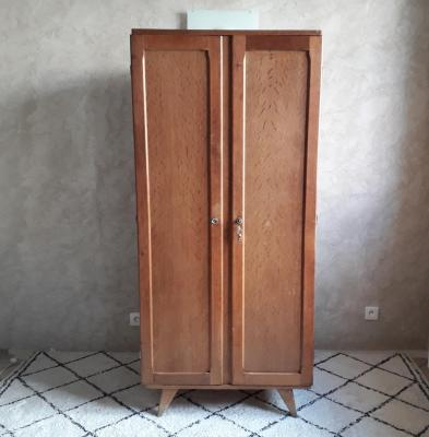 Armoire vintage octobre brocante saint louis 1